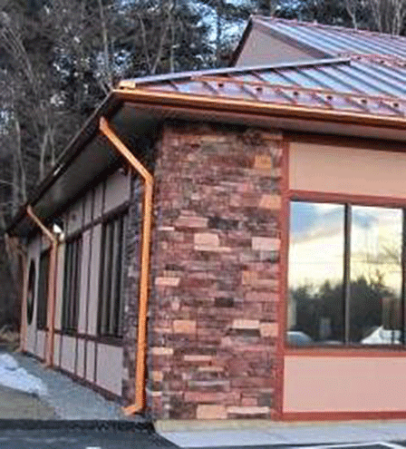 NorthStar Construction Copper Roofing & Gutters