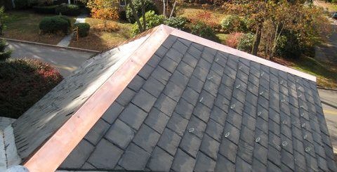 NorthStar Construction Slate & Copper Roof