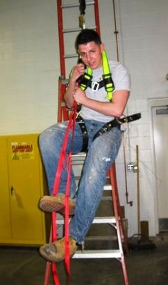 Fall Protection - safety harness training